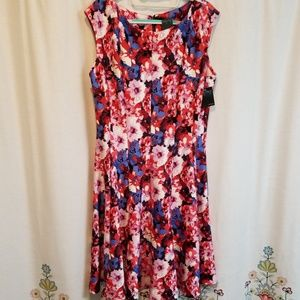 Nwt Gabby Skye Floral fit and flare dress
